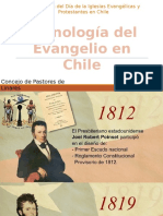 Cronologia Evangelio en Chile