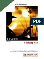 Blues School Chords
