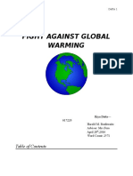 Fight Against Global Warming