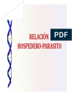 7. Relacion Hospedero - Parasito