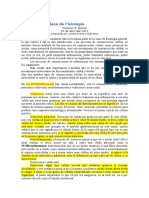 10 Clase Bonoli. 25-04-2012 Fisiologia