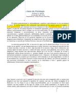 11ra Clase Bonoli. 26-04-2012 FISIOLOGIA