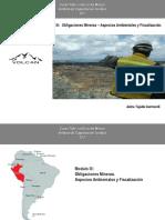 Obligaciones Mineras y Aspectos Ambientales en el Perú (Conseciones Mineras)