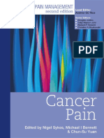 Cancer Pain - Clinical Pain Management
