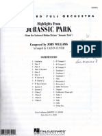 184485134 Jurassic Park Conductor Score