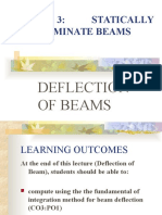 Topic 3 - Deflection of Beams