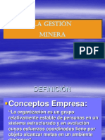 Calse 01 Gestion Minera