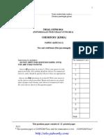 Pahang STPM Trial 2011 Chemistry Paper 2 (w Ans)