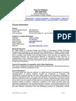 UT Dallas Syllabus for ims5200.0ga.10u taught by Habte Woldu (wolduh)