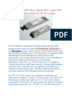 Transceiver Blue Optics Sfp