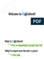 CaltechCSfaq
