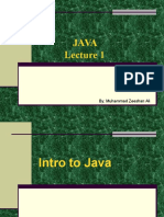 1. Introduction and Uses of Java