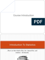 ITM515 Introduction to Statistics