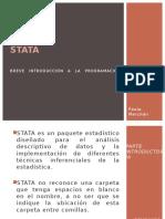 STATA 1 2 Introduccion