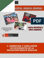 LOGROS EDUCATIVOS Y NUEVO MAGISTERIO PERUANO
