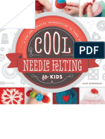 Cool Needle Felting for Kids. a F