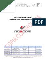 SIG-P-030 Procedimiento de Análisis de Trabajo Seguro V00