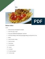 Spaghetti Jawa