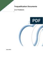 Sample PreQua Documents