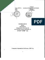Instructie Telegraf Septembrie 2008