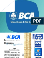 Analisis Strategis PT BCA. Tbk