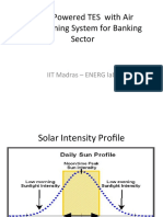 Solar Powered Air Conditioning TES System3