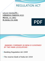 banking act ppt