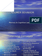 Chap 4. Memory & Cognitive Learning