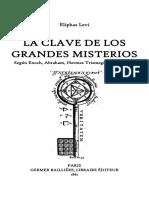 Eliphas Levi - La Clave de Los Grandes Misterios