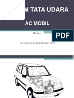 Sistem Tata Udara Mobil