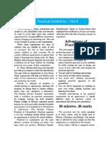 Std IX Dr Homi Bhabha Practical Guidelines Std IX