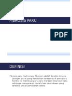 Radiologi Pulmonary Fibrosis