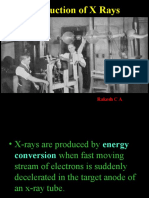 Production of Xrays Generators