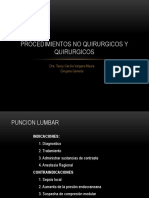 Procedimientos No Quirurgicos y Quirurgicos