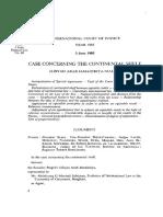 Continental Shelf Cases (Libya v. Malta) NF