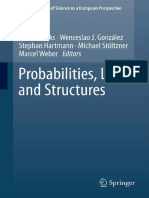 (the Philosophy of Science in a European Perspective 3) Seamus Bradley (Auth.), Dennis Dieks, Wenceslao J. Gonzalez, Stephan Hartmann, Michael Stöltzner, Marcel Weber (Eds.)-Probabilities, Laws, And S