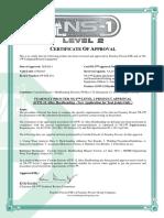OTW 12 Hardbanding Approval