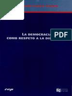 Castro - La Democracia Como Respeto a La Diferencia