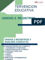 Unidad 2 Registros
