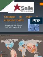 Creación de Valor y Empresa Matriz