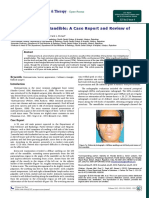 Osteosarcoma of Mandible a Case Report and Review of Literature 1948 5956.1000036
