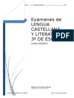 3º ESO_Exámenes 2014-15