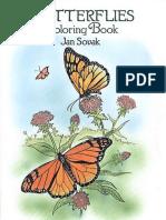 Butterflies - Coloring Book