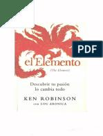 [Ken Robinson] El Elemento (1).pdf