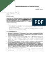 4. Carta de Manifestación Correspondientes a La Información Financiera (Modelo)