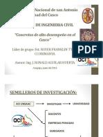5. Concretos de Alto Desempeno Em El Cusco