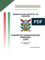 4. Cap Oficial Umachiri 2015