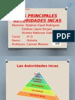 Autoridades Incas