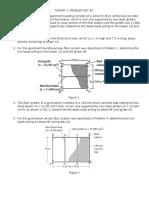 Problem Set 1- Ce303