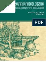 Shoreline Community College's 2010-2011 College Catalog